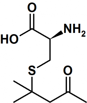 S-4-(4-methylpentan-2-on)-L-cystein