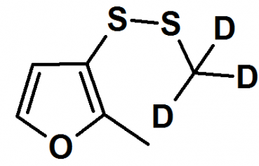 Methyl-2-methylfuryldisulfide - d3