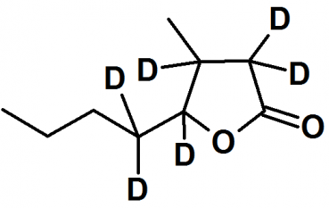 Whiskey lactone - d6