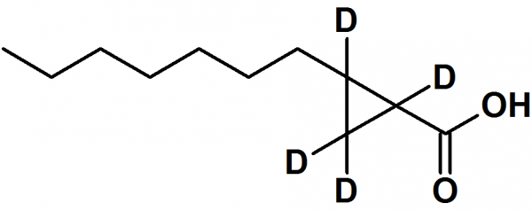 2Z-Heptyl cyclopropane-d4-carboxylic acid